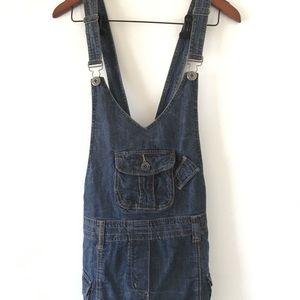 River Island Jean Overall Skirt $20